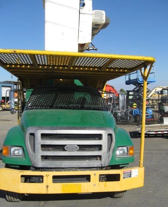 2008 Ford F750 HIRANGER 60′ Forestry Bucket Truck In